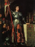 Jeanne d'Arc au sacre du roi Charles VII, dans la cathedrale de Reims (1854)