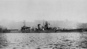 大淀77IJN_light_cruiser_Oyodo_at_Kure_in_1943