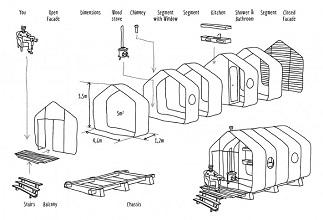段ボール家103 Wikkelhouse_configuration-710x483