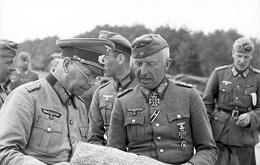Russland-Nord, Erich von Manstein, Brandenberger